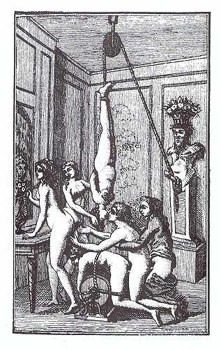 Illustration from Juliette by the Marquis de Sade Juliette Sade Dutch.jpg