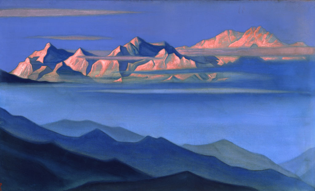 Pictures at an Exhibition Kangchenjunga_(N.Roerich)