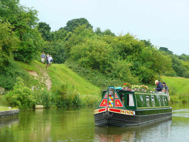 Kennet and Avon Canal east of Hungerford 13 - geograph.org.uk - 875298
