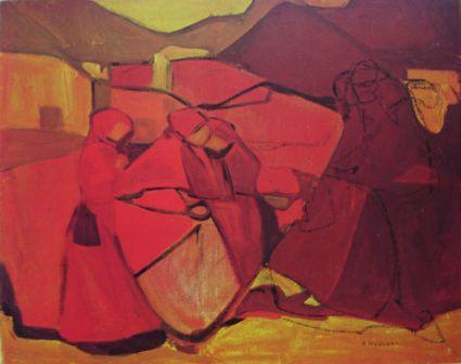 Kompozycja w czerwieni