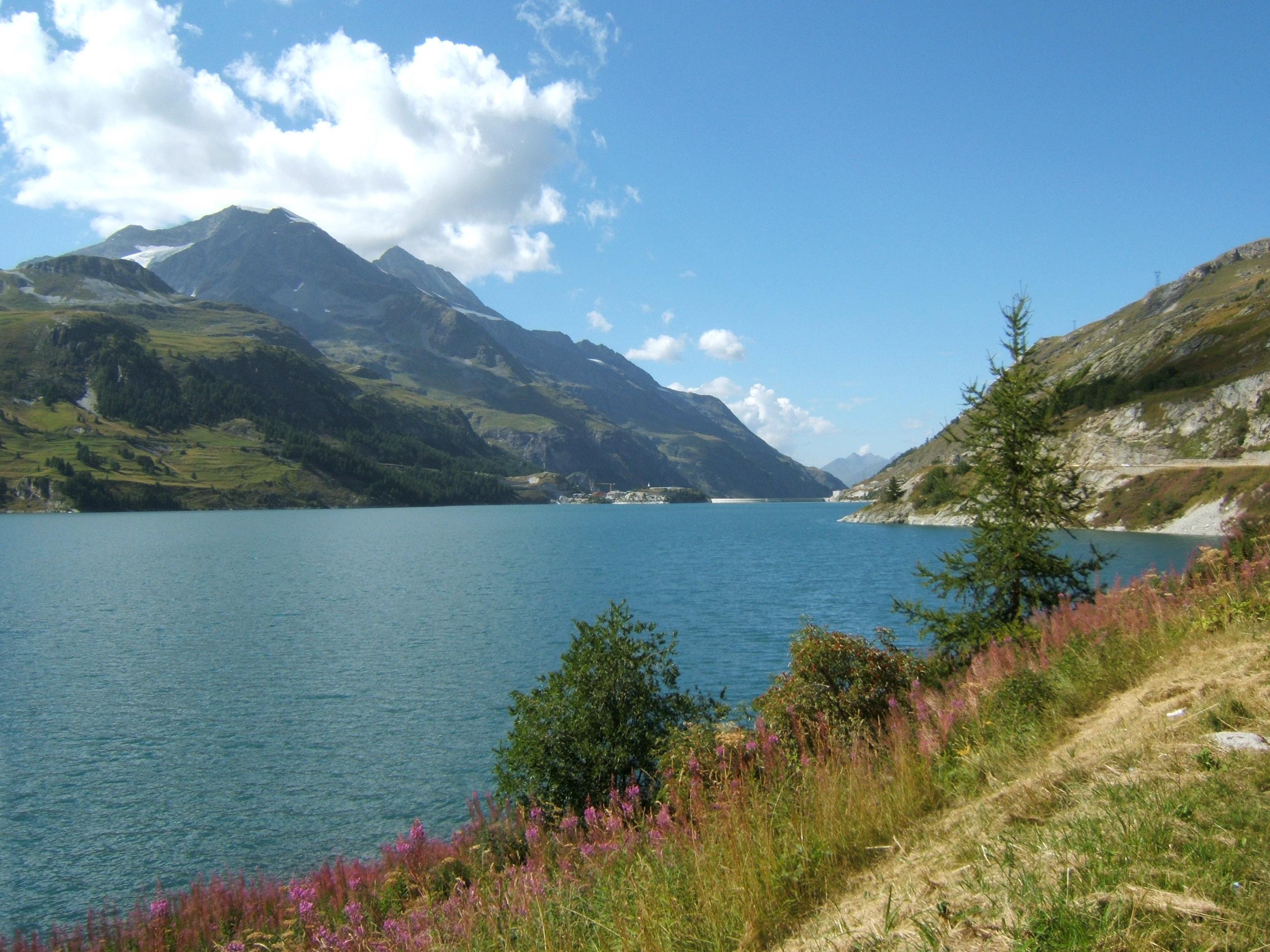 File lac du chevril tignes jpg wikimedia commons - Lac du chevril ...