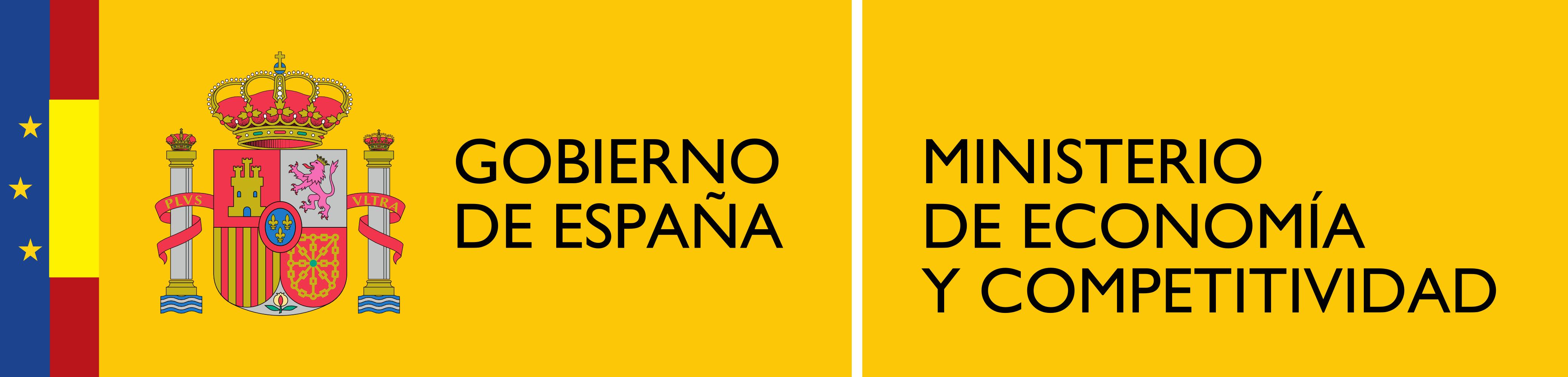 Description Logotipo del Ministerio de Economía y Competitividad.png