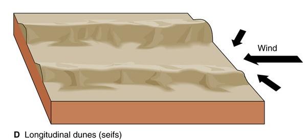 Longitudinal dune