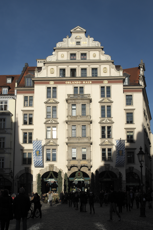 Orlando Haus file münchen orlando haus 136 jpg wikimedia commons
