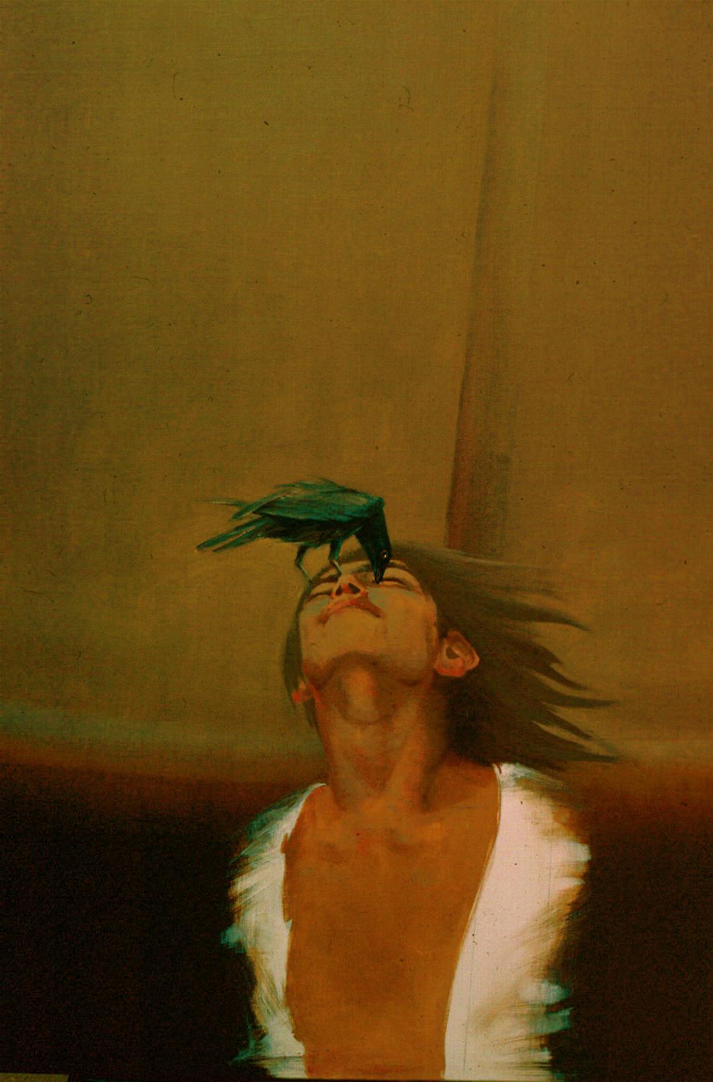 ''Man's Destiny'' oil painting by Ala Bahsir