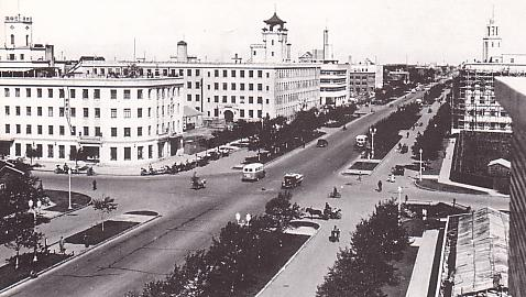 Manchukuo Hsinking avenue