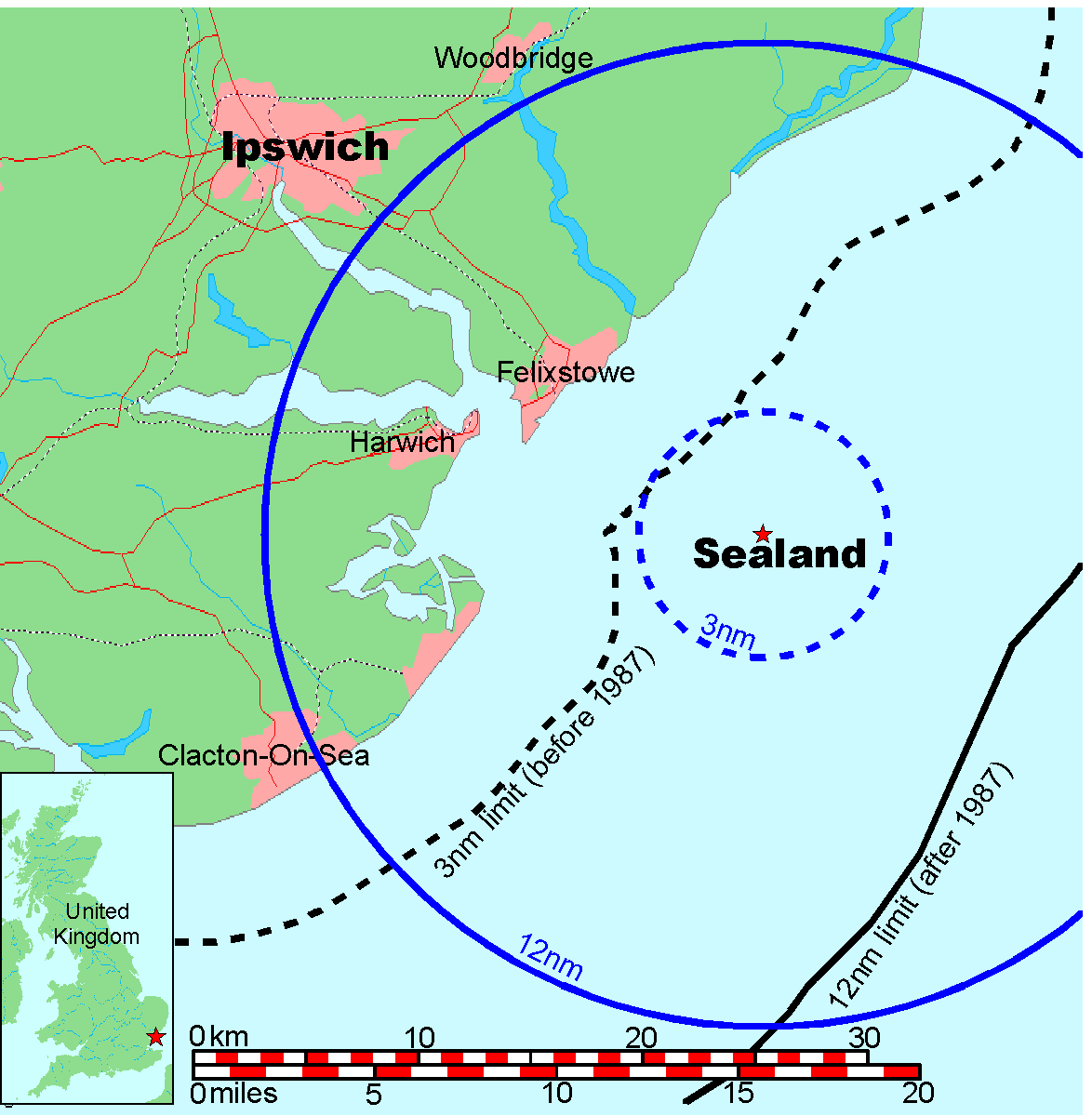 FileMap of Sealand with territorial waterspng  Wikimedia Commons