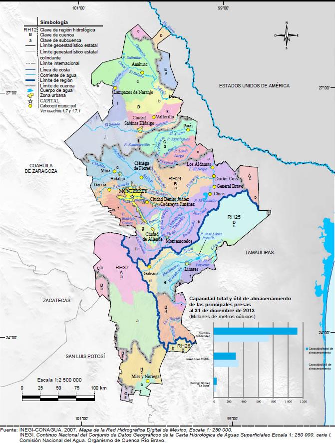 Hidrografía De Nuevo León Wikipedia La Enciclopedia Libre