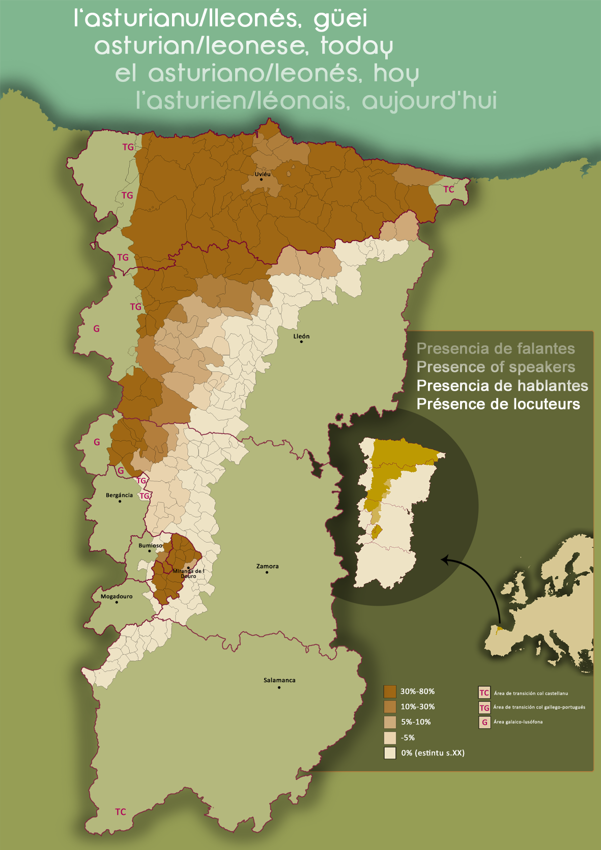 Asturian Language Wikipedia