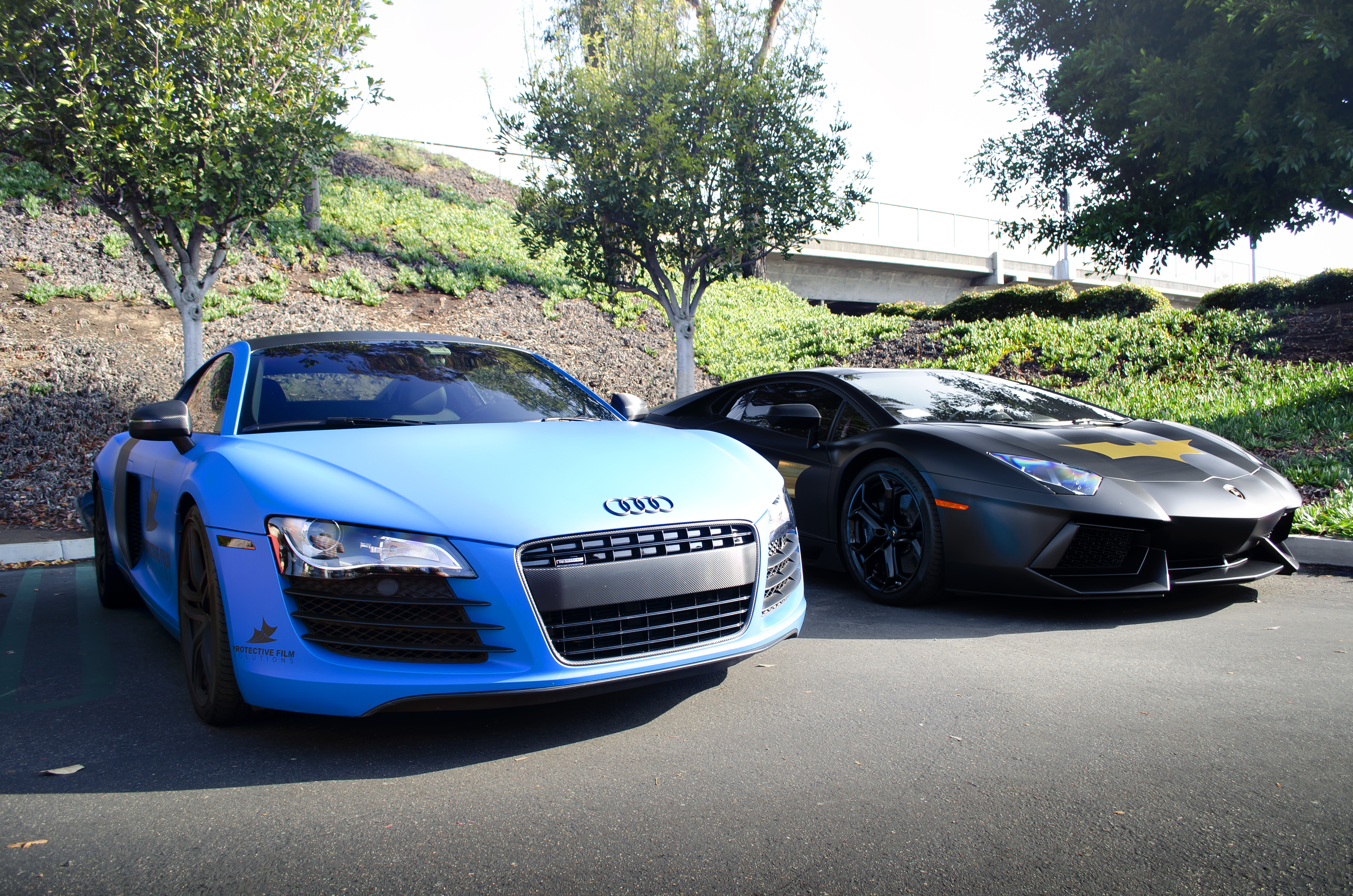 Audi R8 Black And Silver