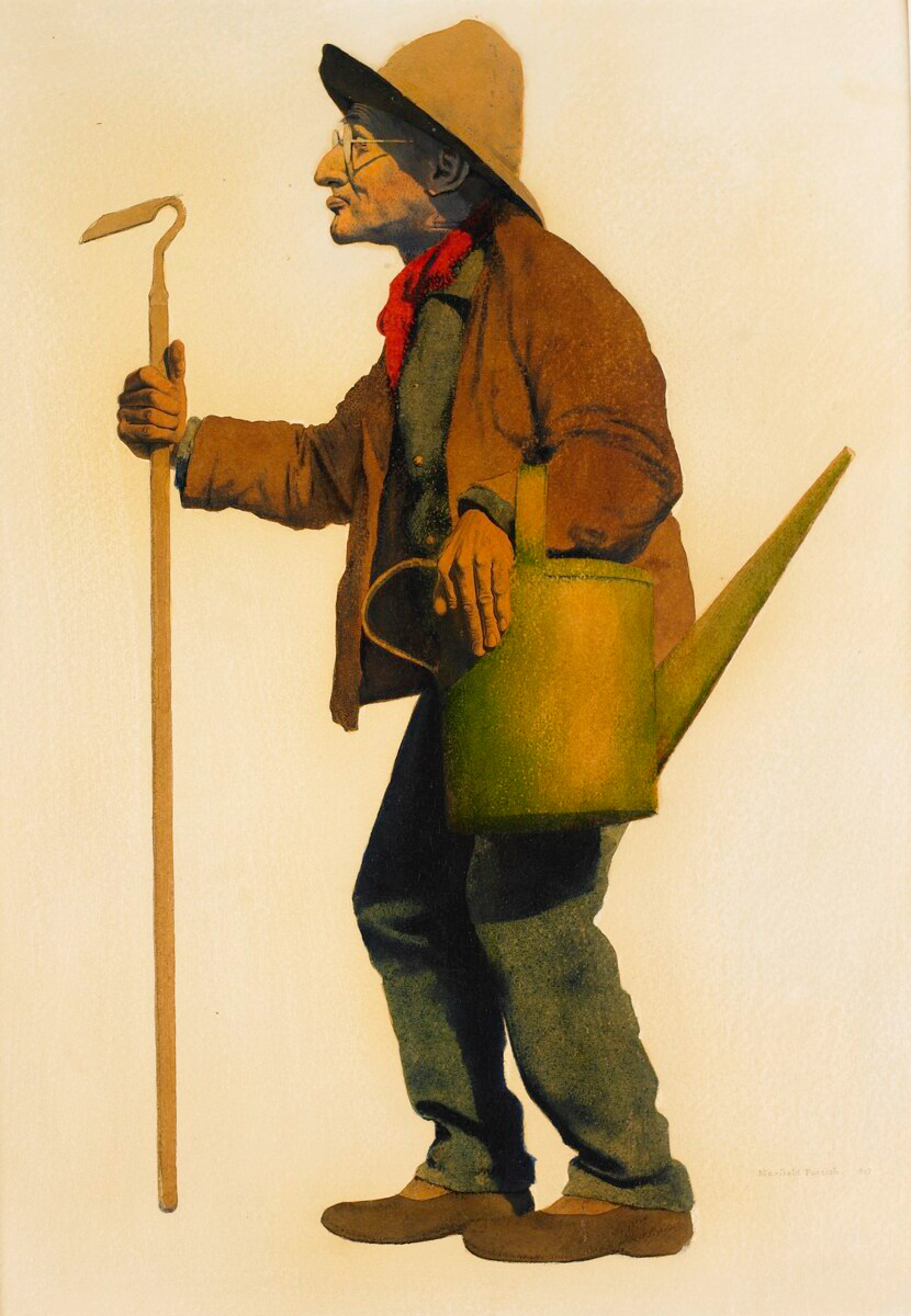 filemaxfield parrishs painting of the gardenerjpg