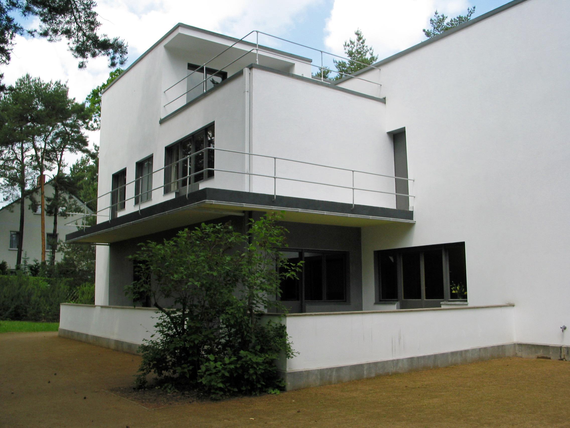 File Meisterhauser Nr 7 Haus Klee Balkon Und Terrassen Im