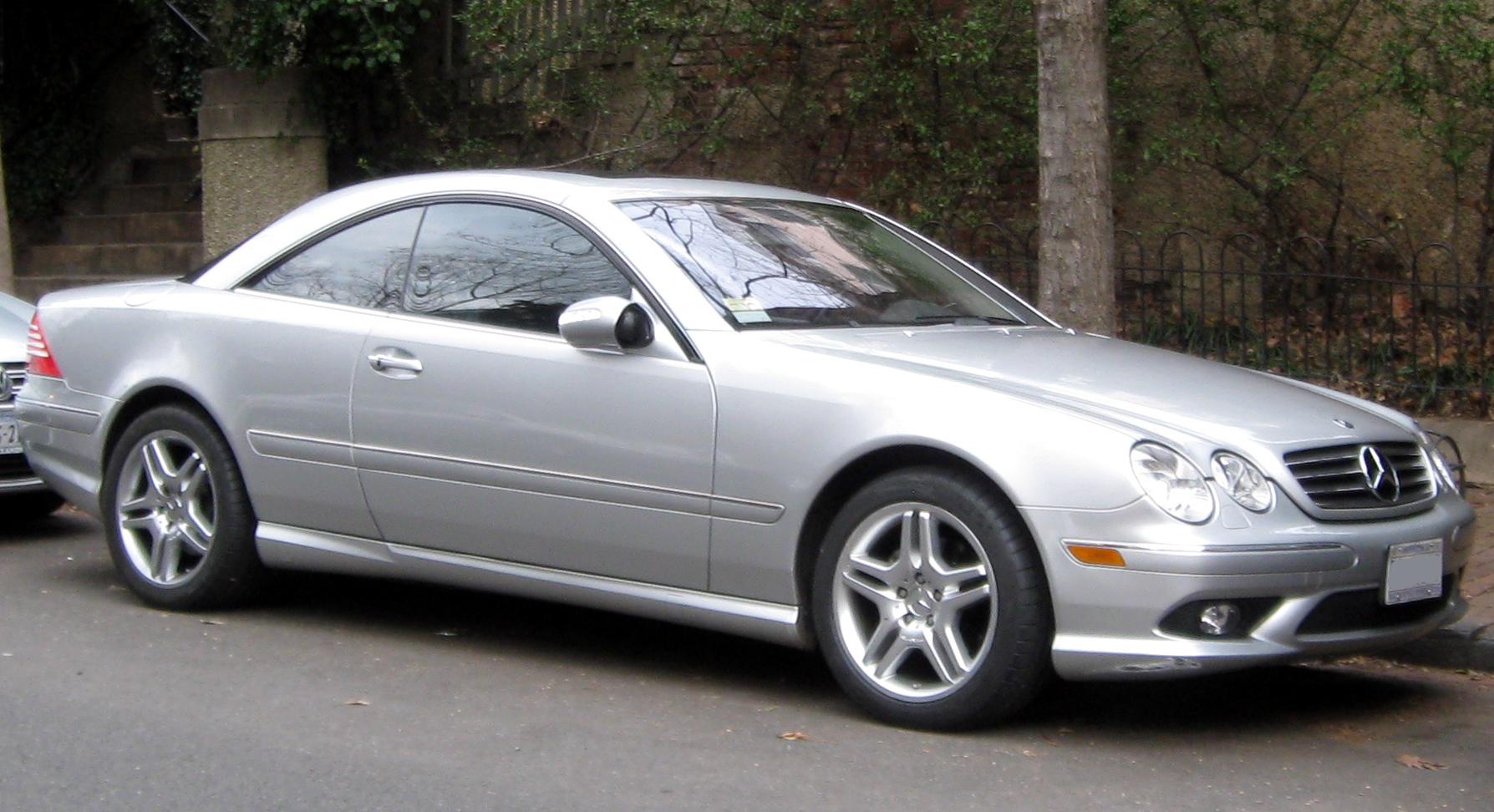 Mercedes benz cl class c215 wikiwand for Cl mercedes benz