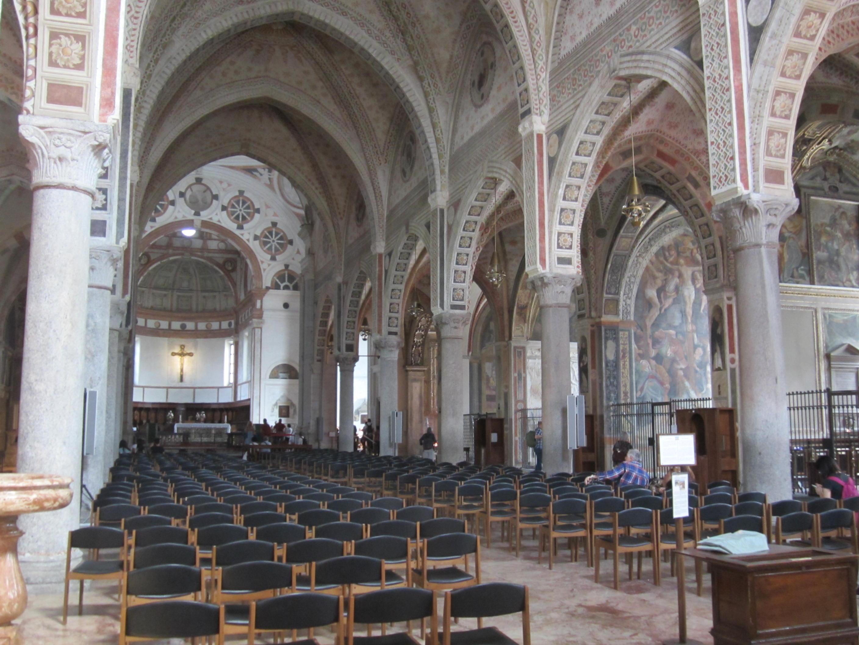 File milano chiesa di santa maria delle grazie interno for Interno chiesa