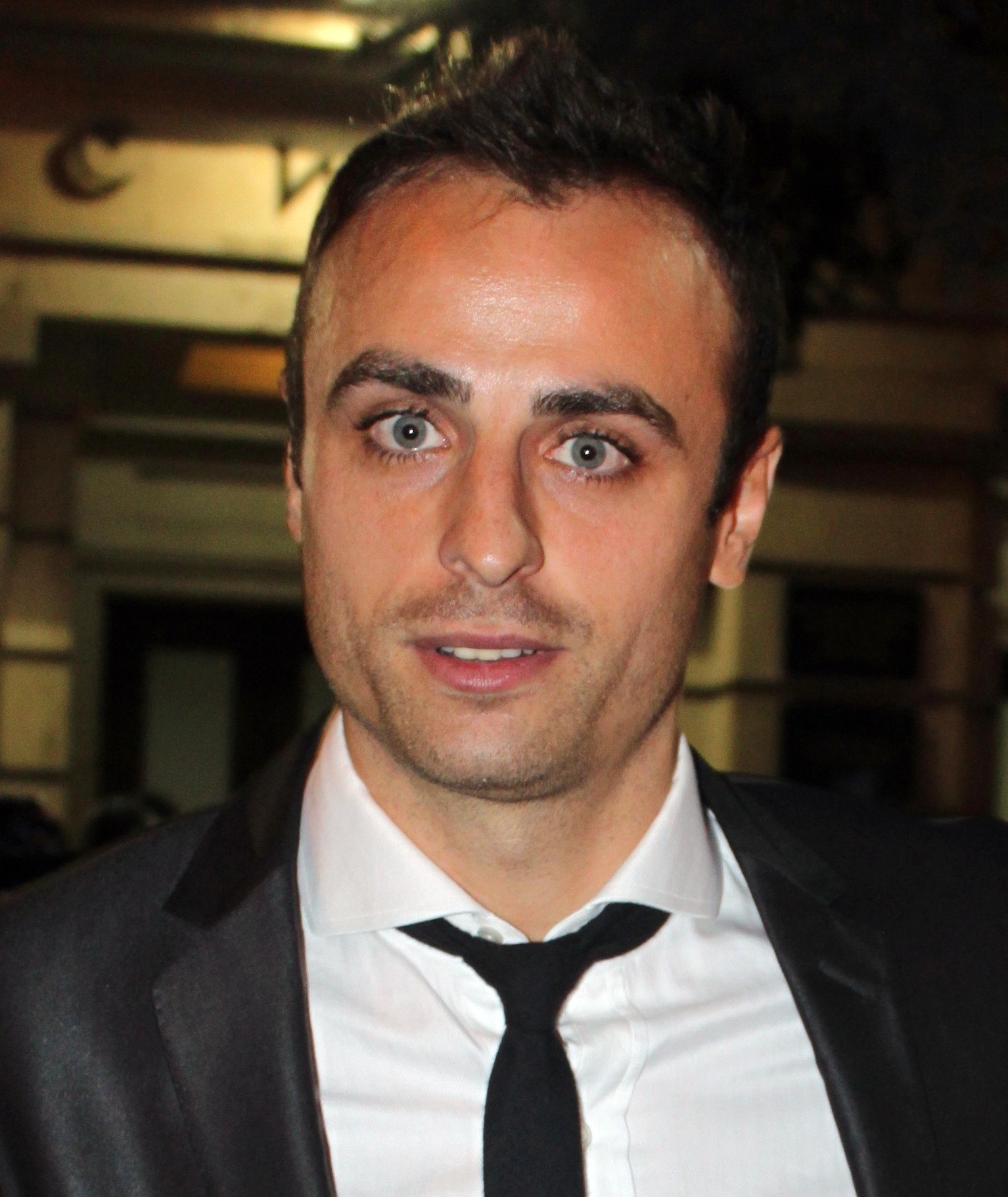 The 37-year old son of father (?) and mother(?) Dimitar Berbatov in 2018 photo. Dimitar Berbatov earned a  million dollar salary - leaving the net worth at 19 million in 2018