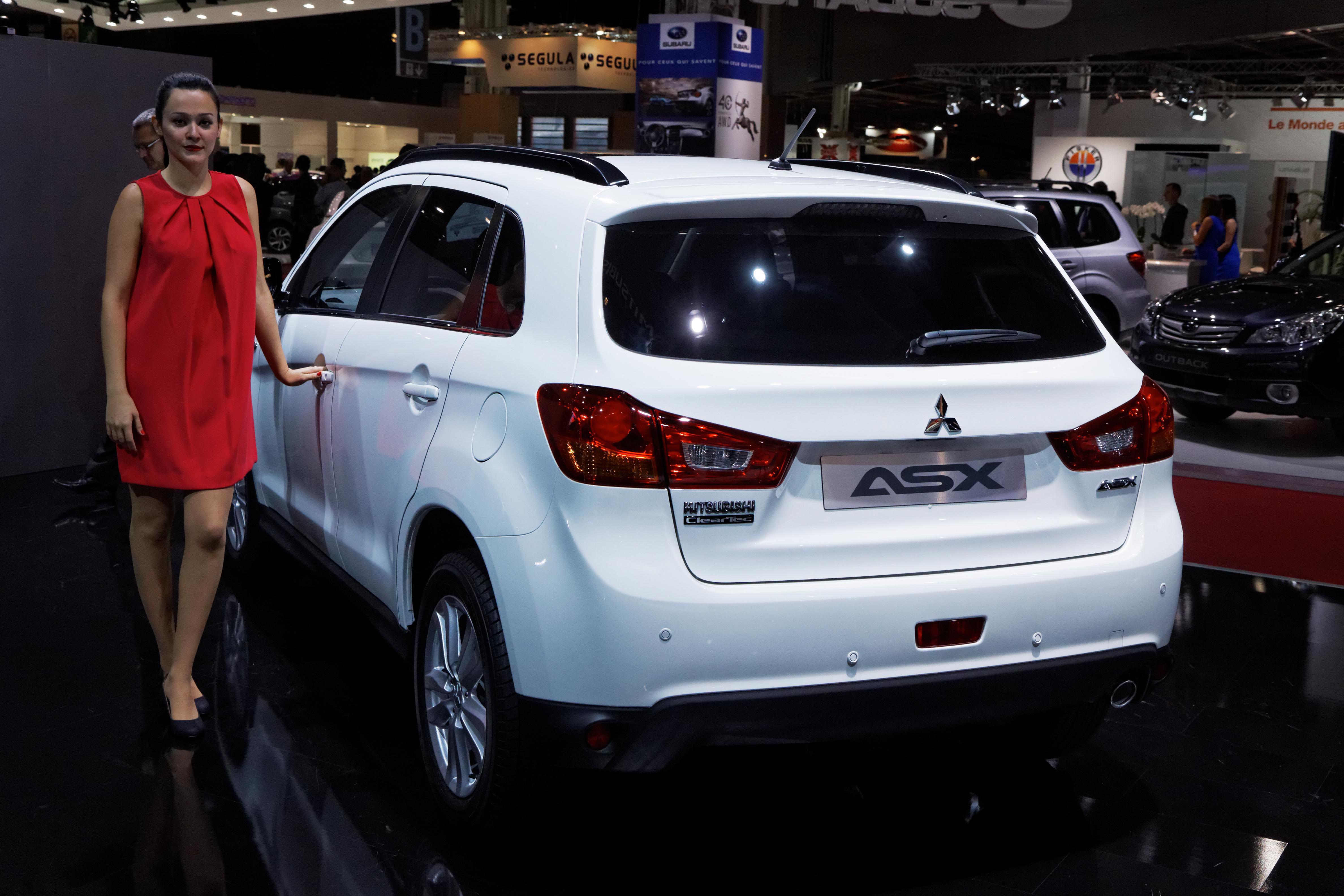 Mitsubishi asx size