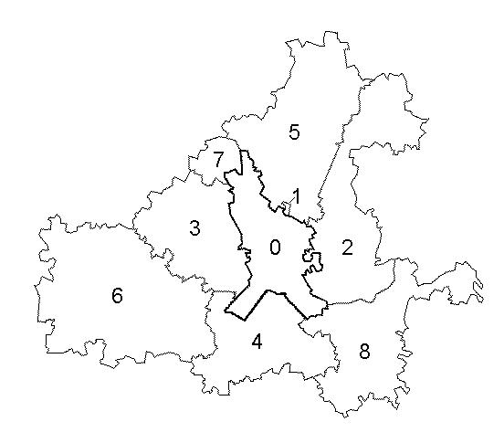 Ярославский муниципальный район, карта
