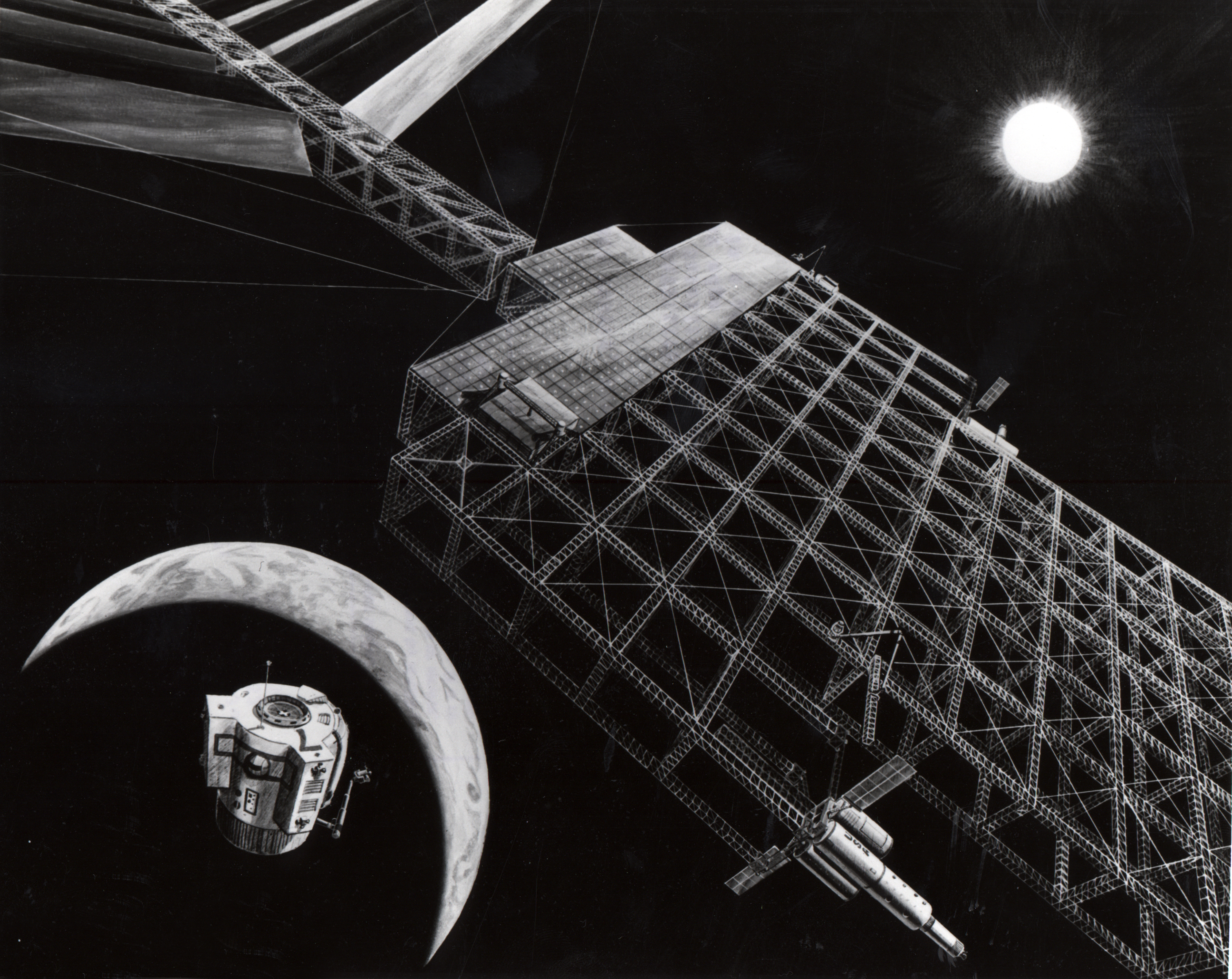 NASA solar power satellite concept 1976.jpg