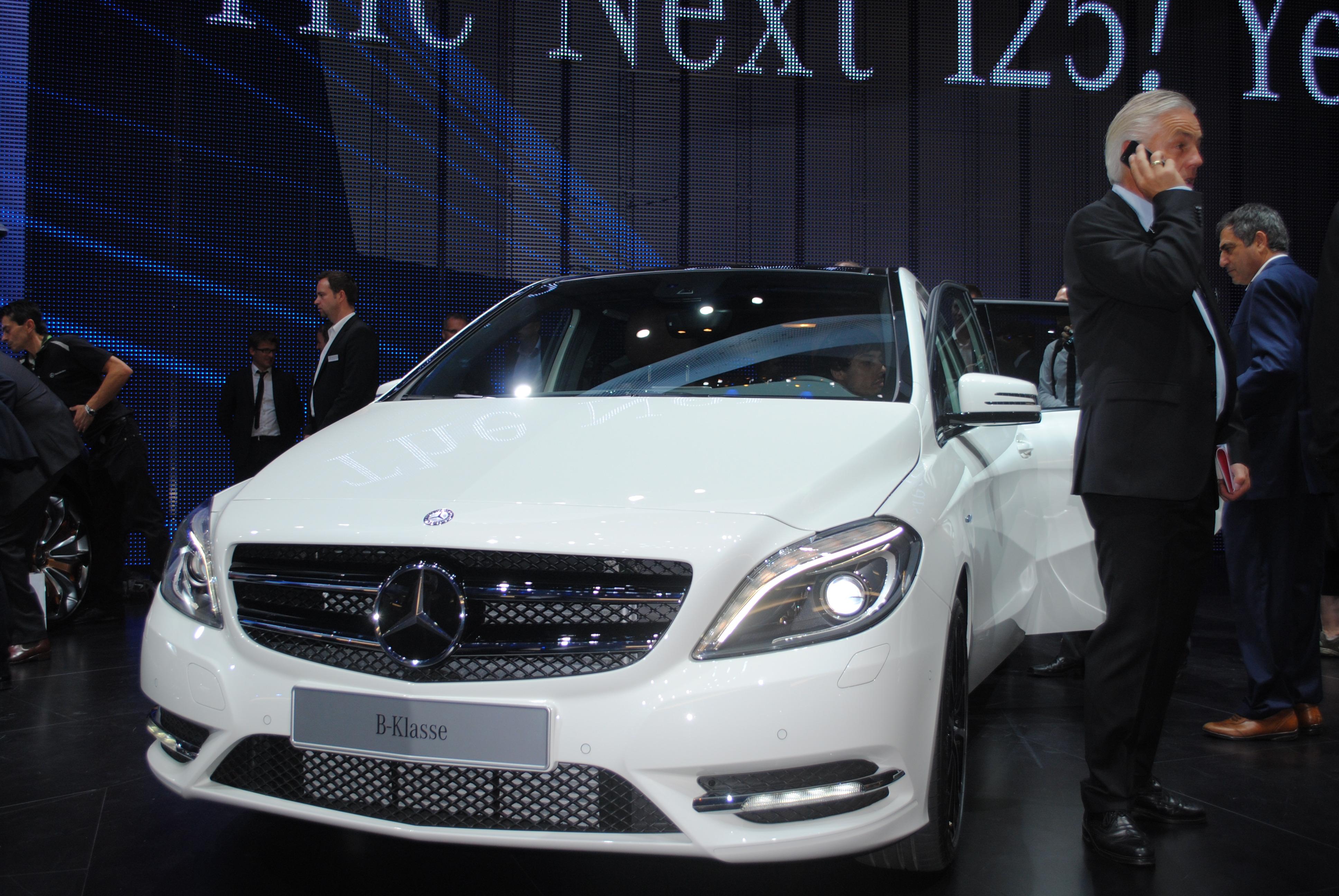 File New Mercedes Benz B Class At The Frankfurt Motor Show