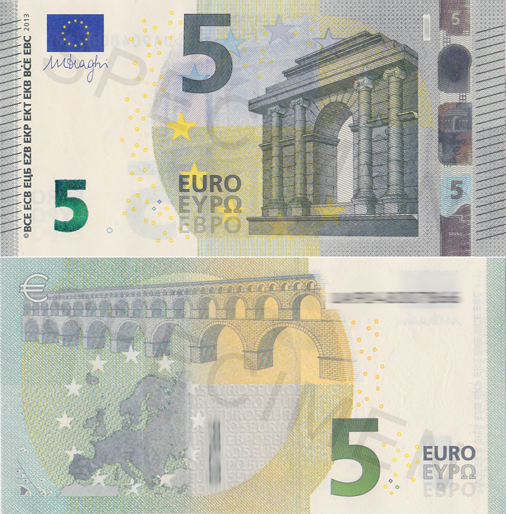 Euro Currency Design