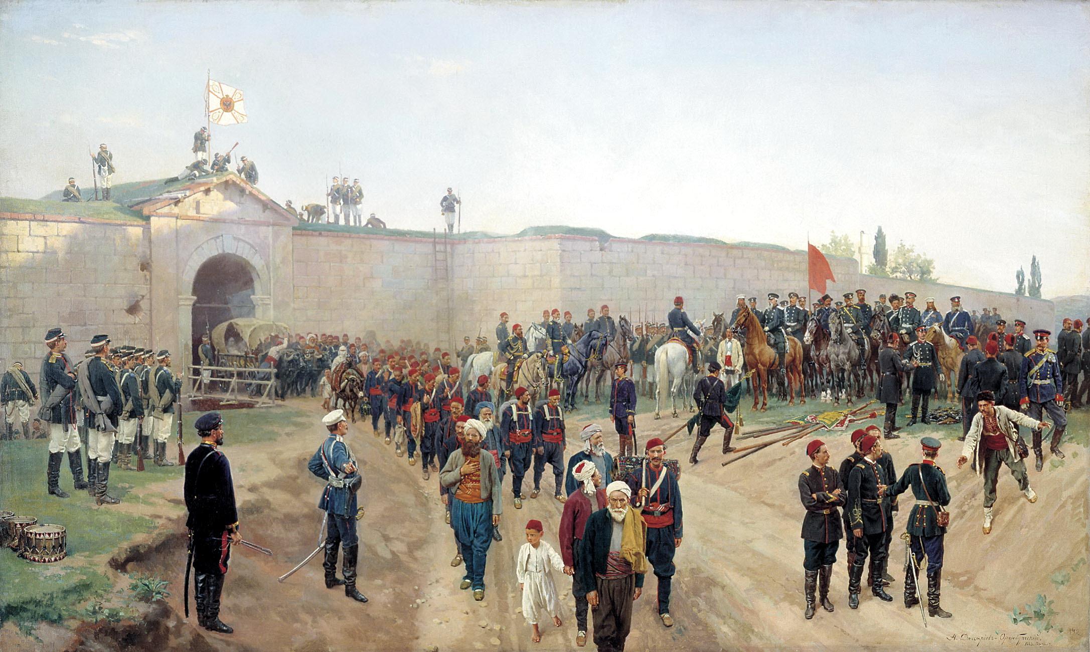الحروب الروسية العثمانية - ويكيبيديا