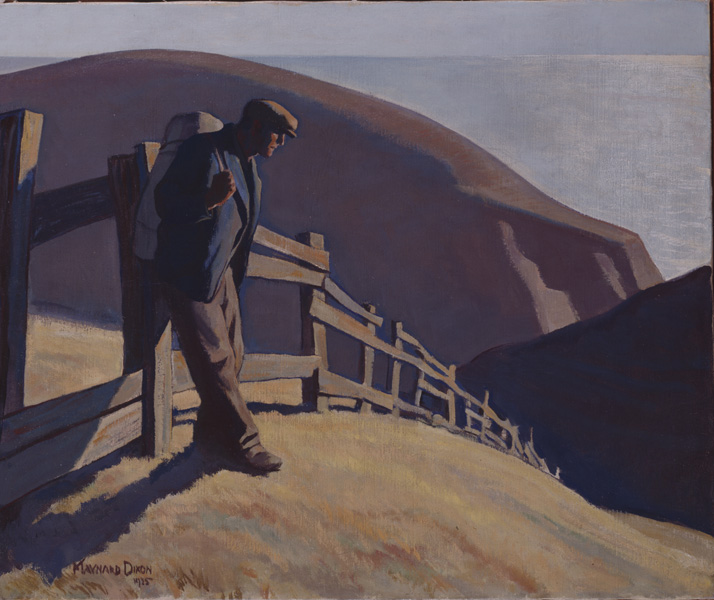 No Place to Go by Maynard Dixon, 1935