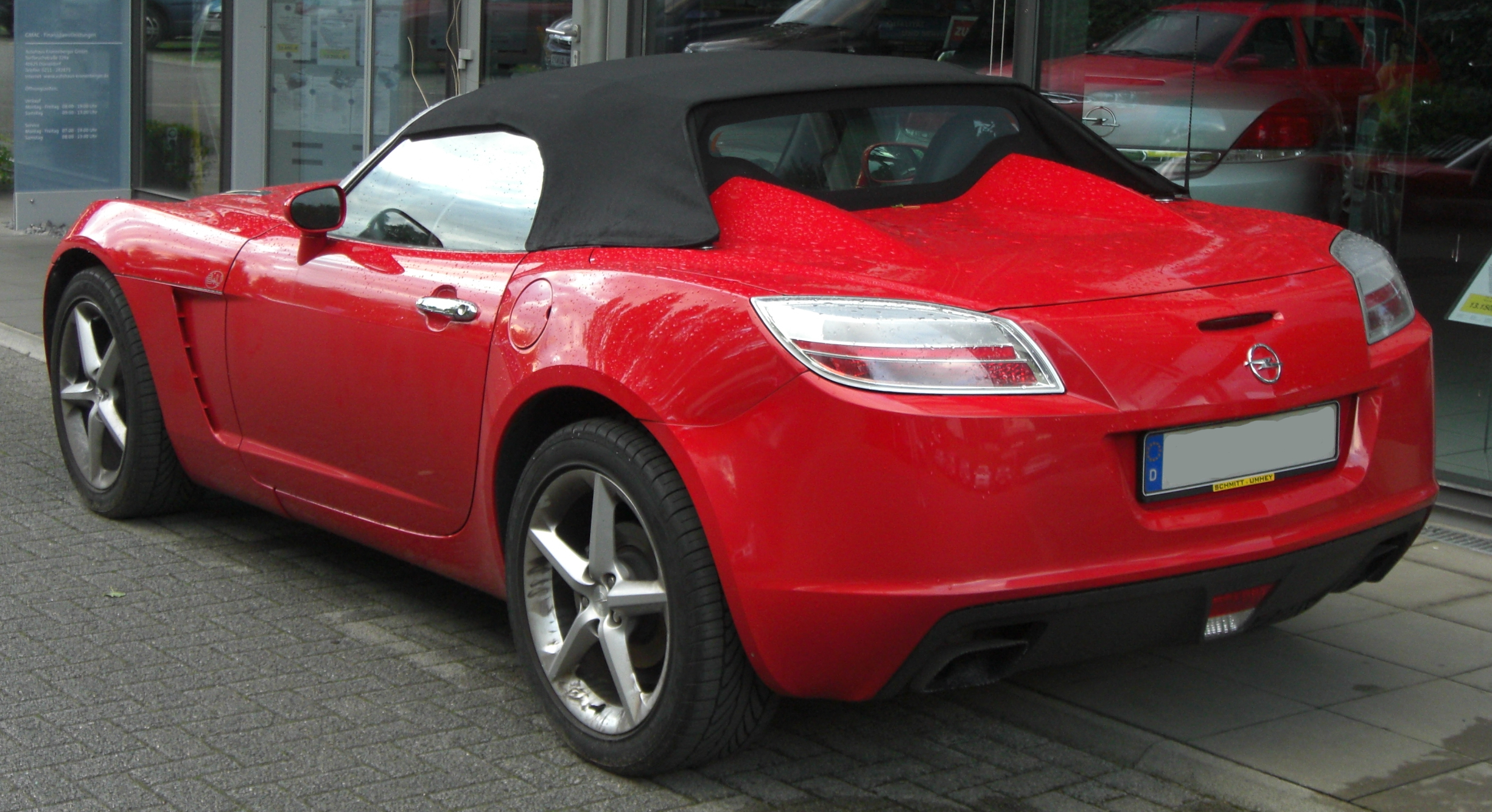File:Opel GT rear.JPG - Wikimedia Commons