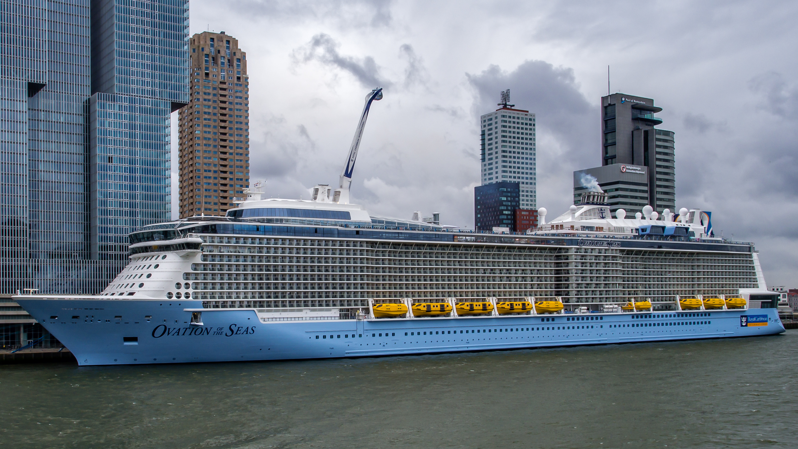 File Ovation Of The Seas Nieuwe Maas Port Of Rotterdam
