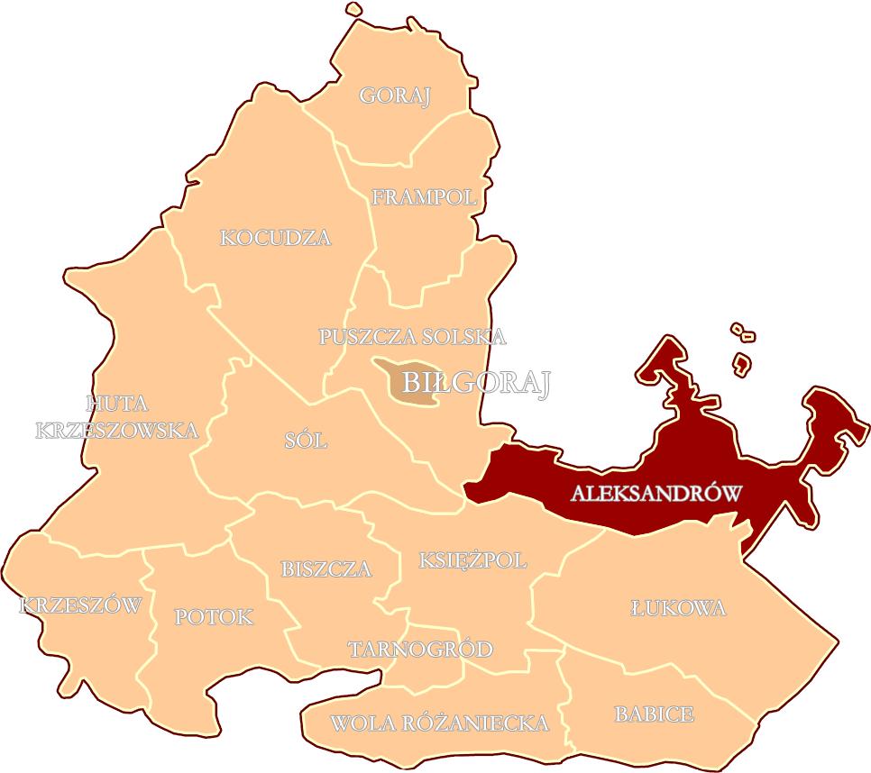 File Pol Gmina Aleksandrow In Bilgoraj County 1933 Png Wikimedia