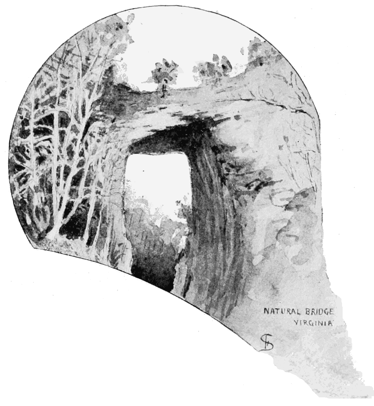 PSM V54 D071 Completed natural bridge.png