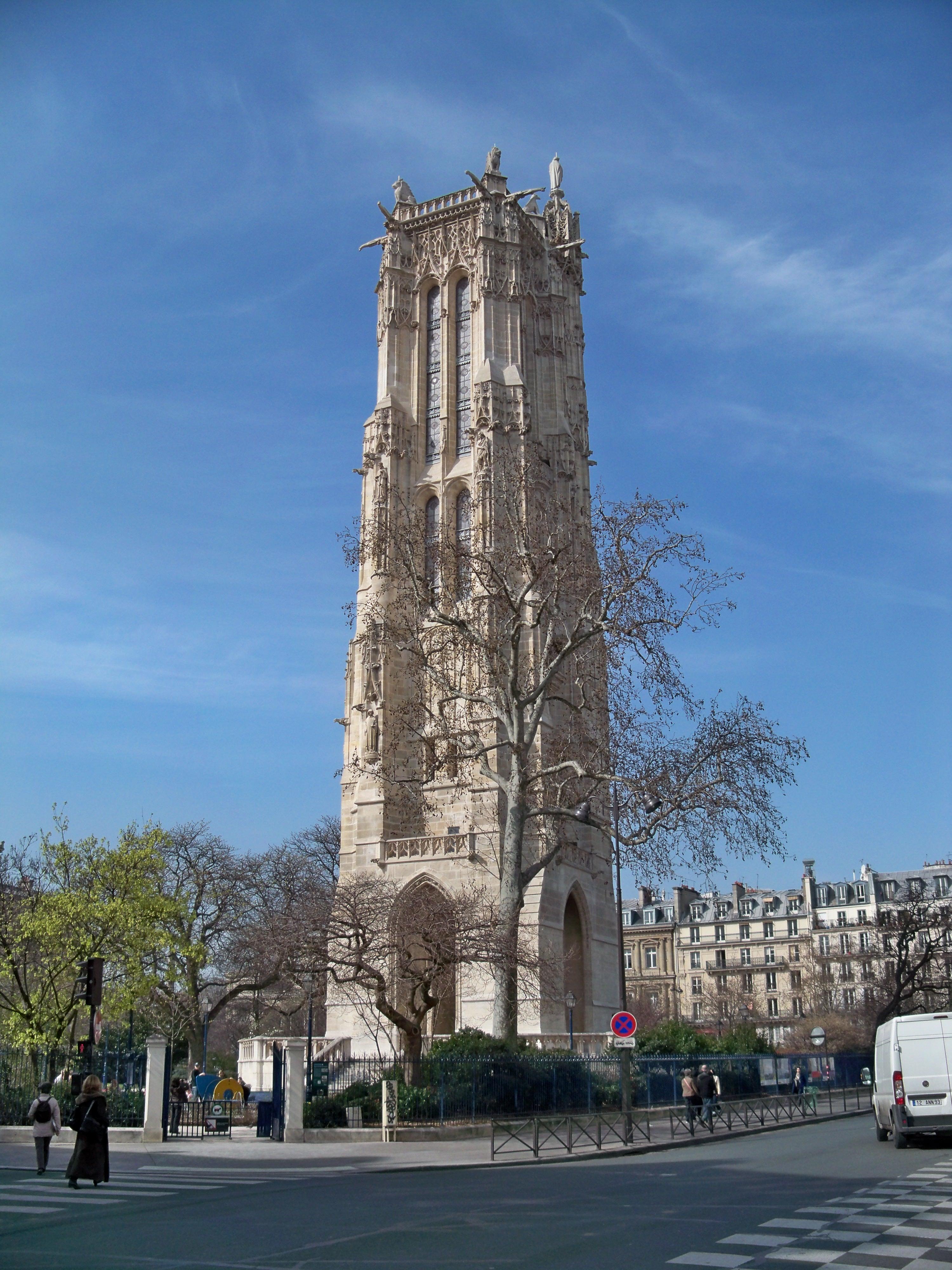 File paris tour saint jacques wikimedia commons - Tour saint jacques paris ...