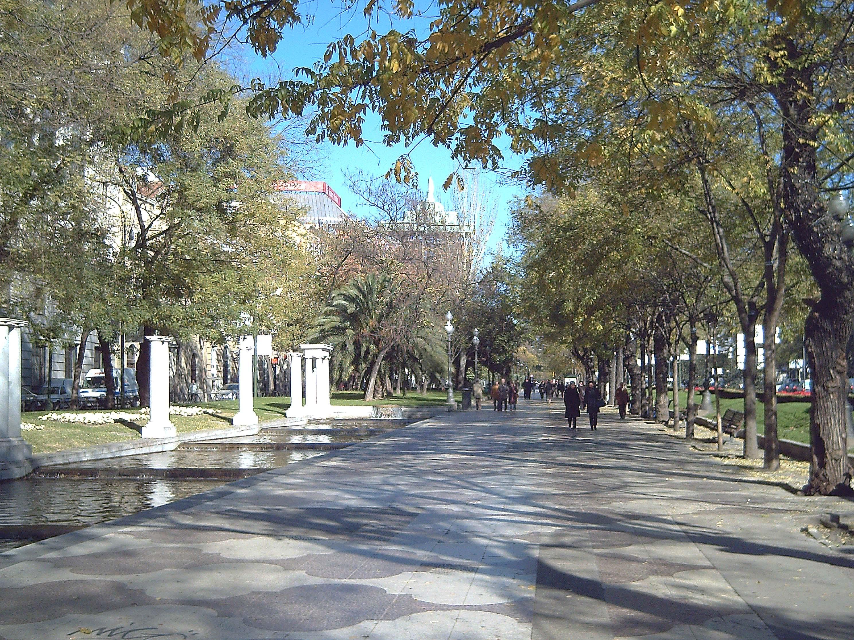 File Paseo De Recoletos Madrid 02 Jpg Wikimedia Commons