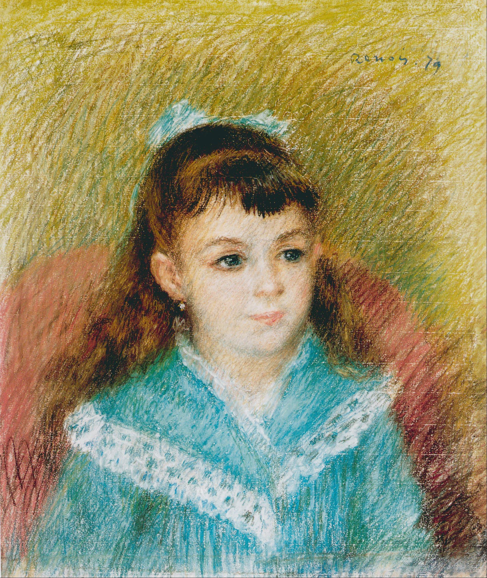 6 x 8 Art Renoir Portrait of a Girl Ceramic Mural ... |Renoir Portraits