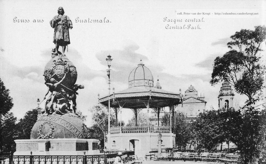 14 de agosto de 1502: durante el cuarto viaje de Cristóbal Colón, se ...