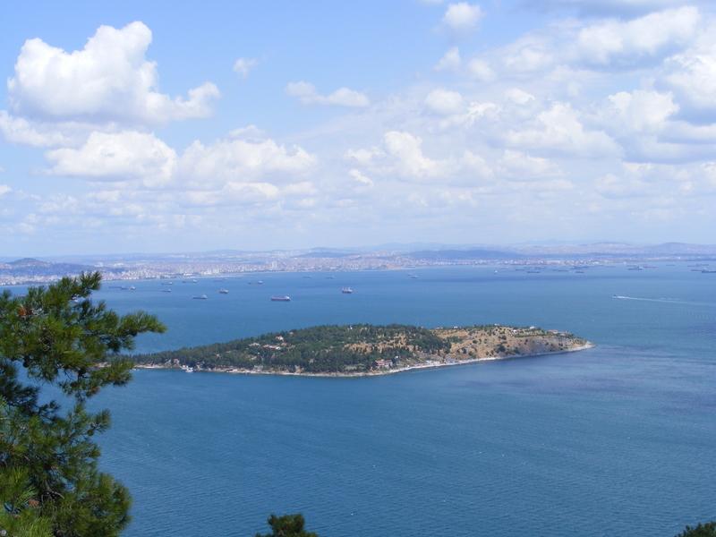 Islas Príncipe, en el Mar de Mármara al sur de Estambul