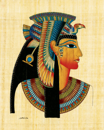 a description of the cleopatra an egyptian queen A profile of cleopatra, the last queen of ancient egypt and one of the most  the  earliest source describing cleopatra's death is greek historian.