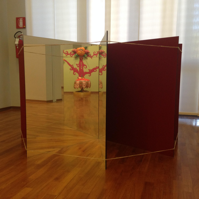 File raggiera di specchi mirror rays michelangelo - Michelangelo pistoletto specchi ...