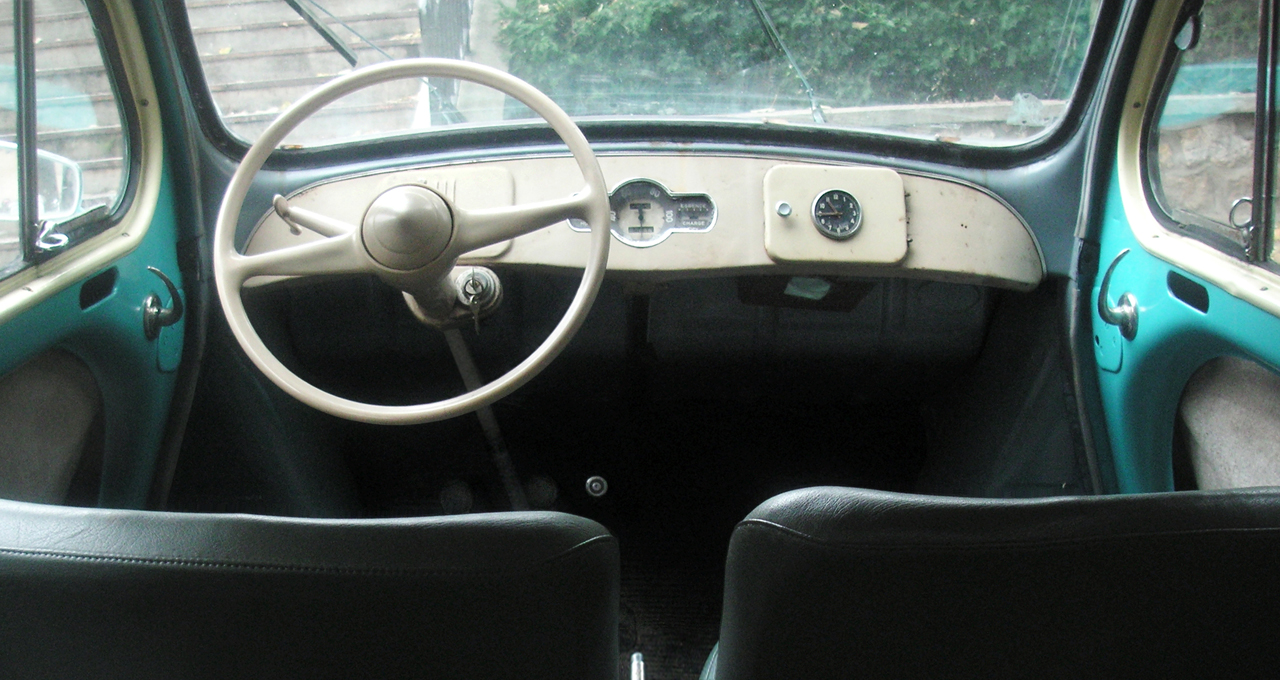 Renault 4cv 50 for Interieur 4cv