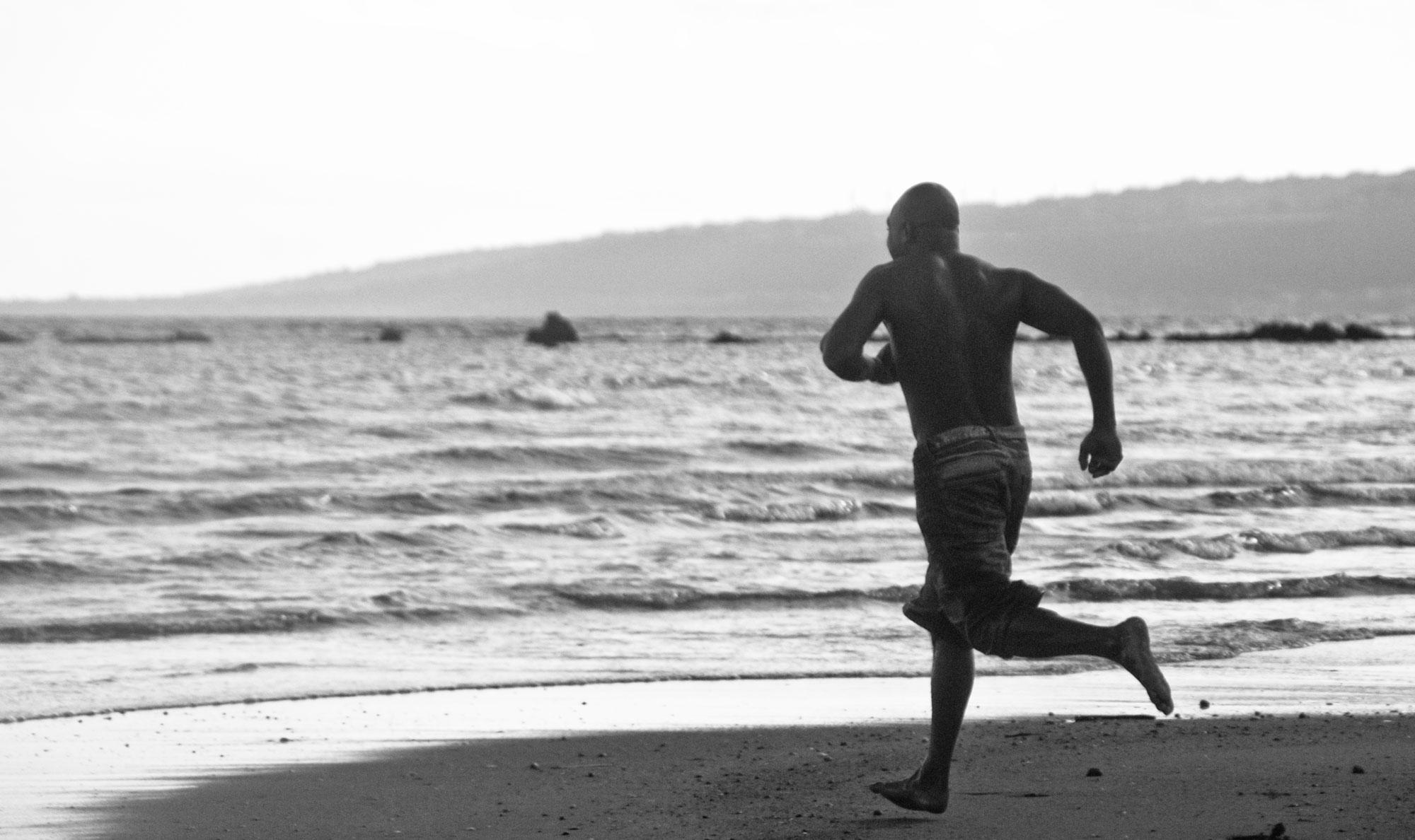 Men On Beach Holiday