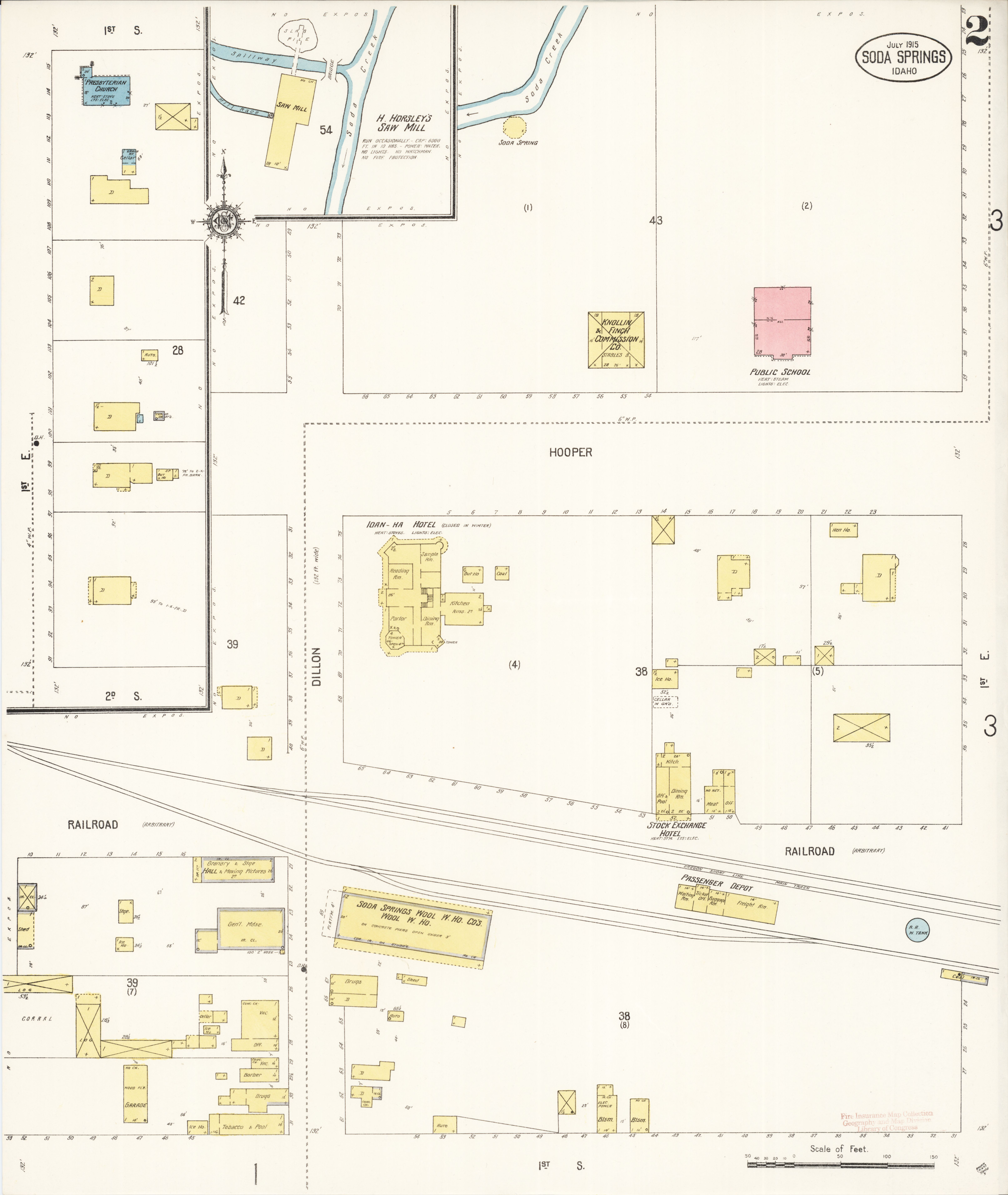 File Sanborn Fire Insurance Map From Soda Springs Caribou County
