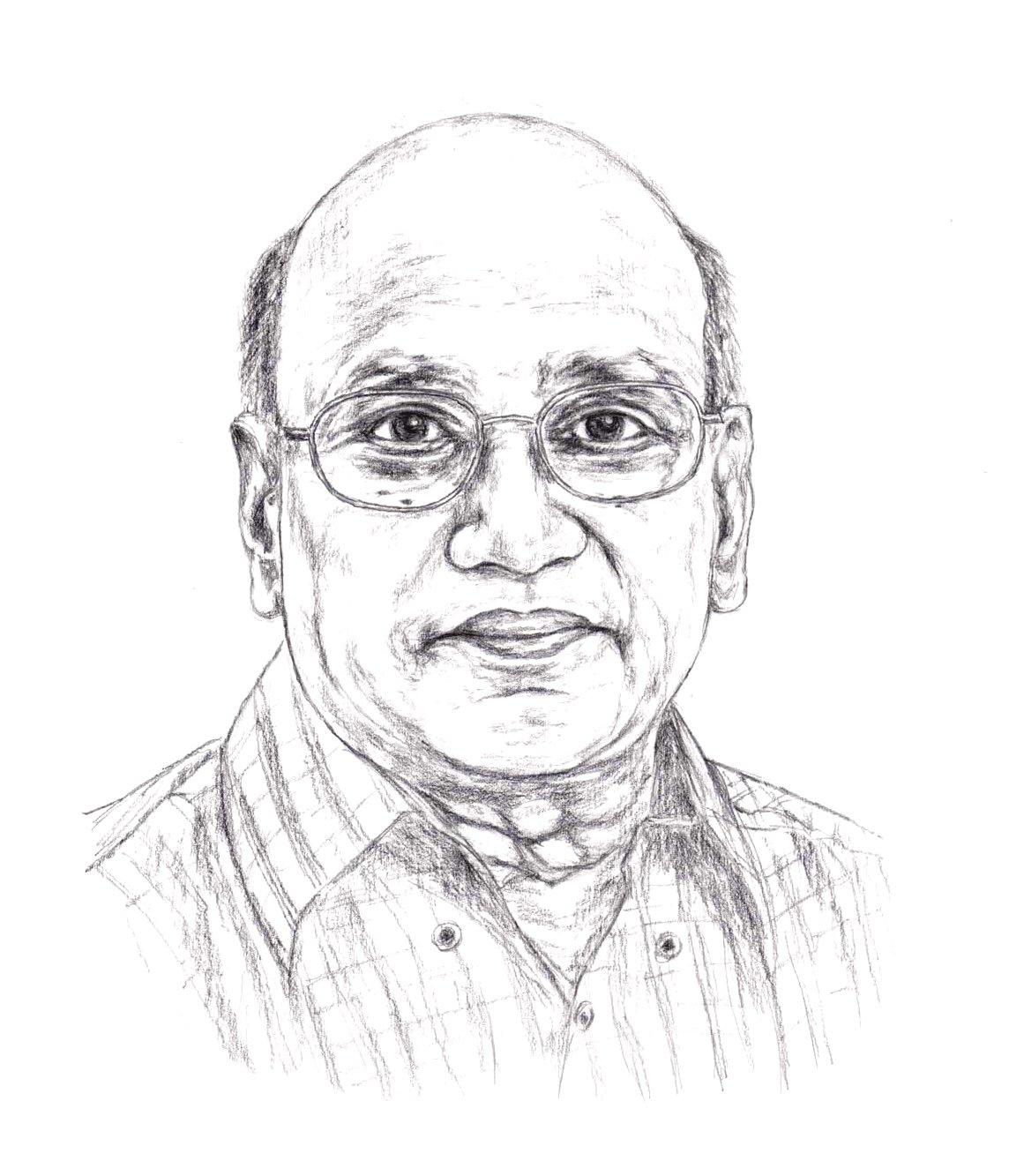 Self Portrait of Sankara Narayana Sathiraju.jpg
