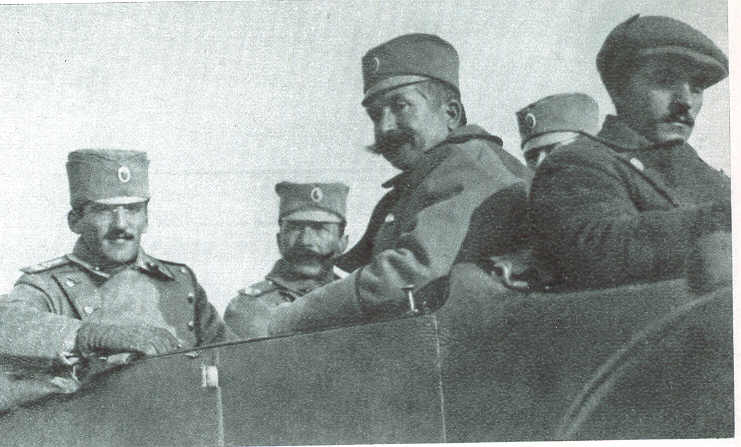 File:Serbian 1st Army Staff 1st Balkan War.jpg