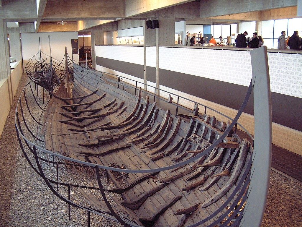Skuldelev 1 a knarr type trade ship from the Viking Age