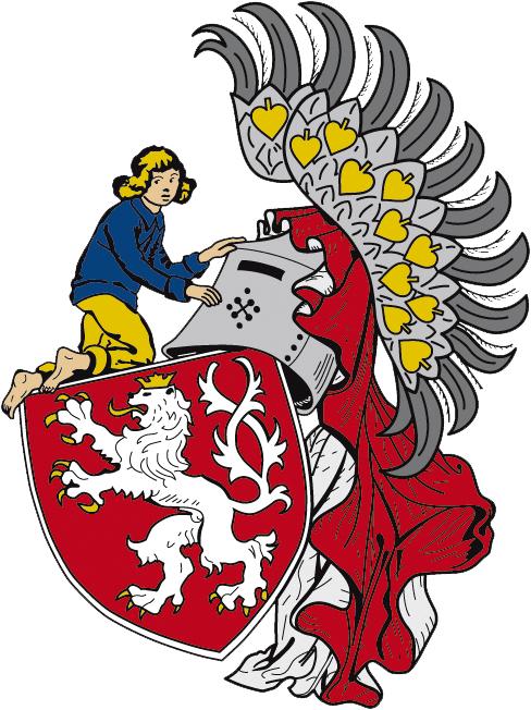 Znak obce Slaný