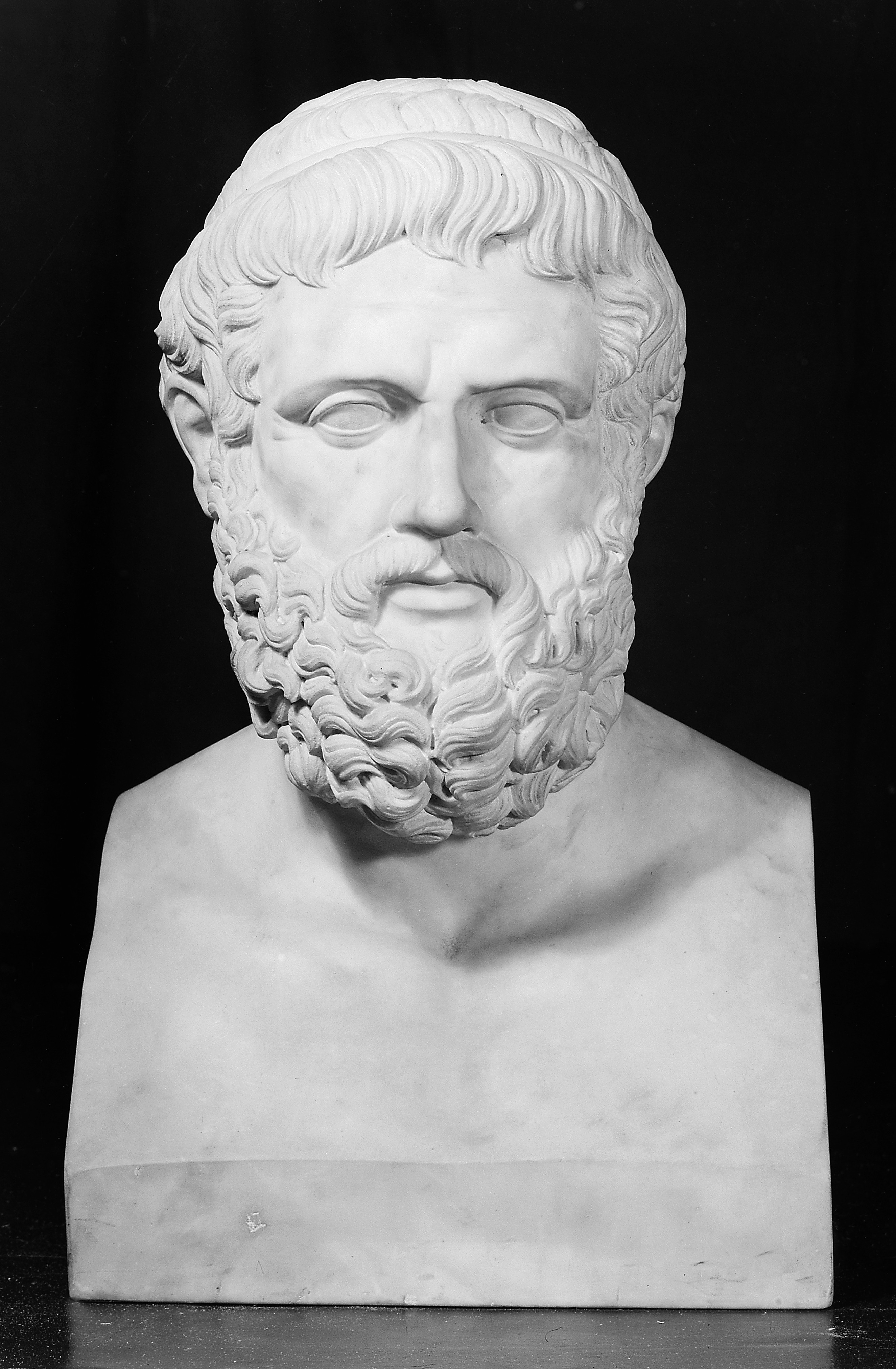 File:Sophocles, from the bust in the Lateran, Rome ...