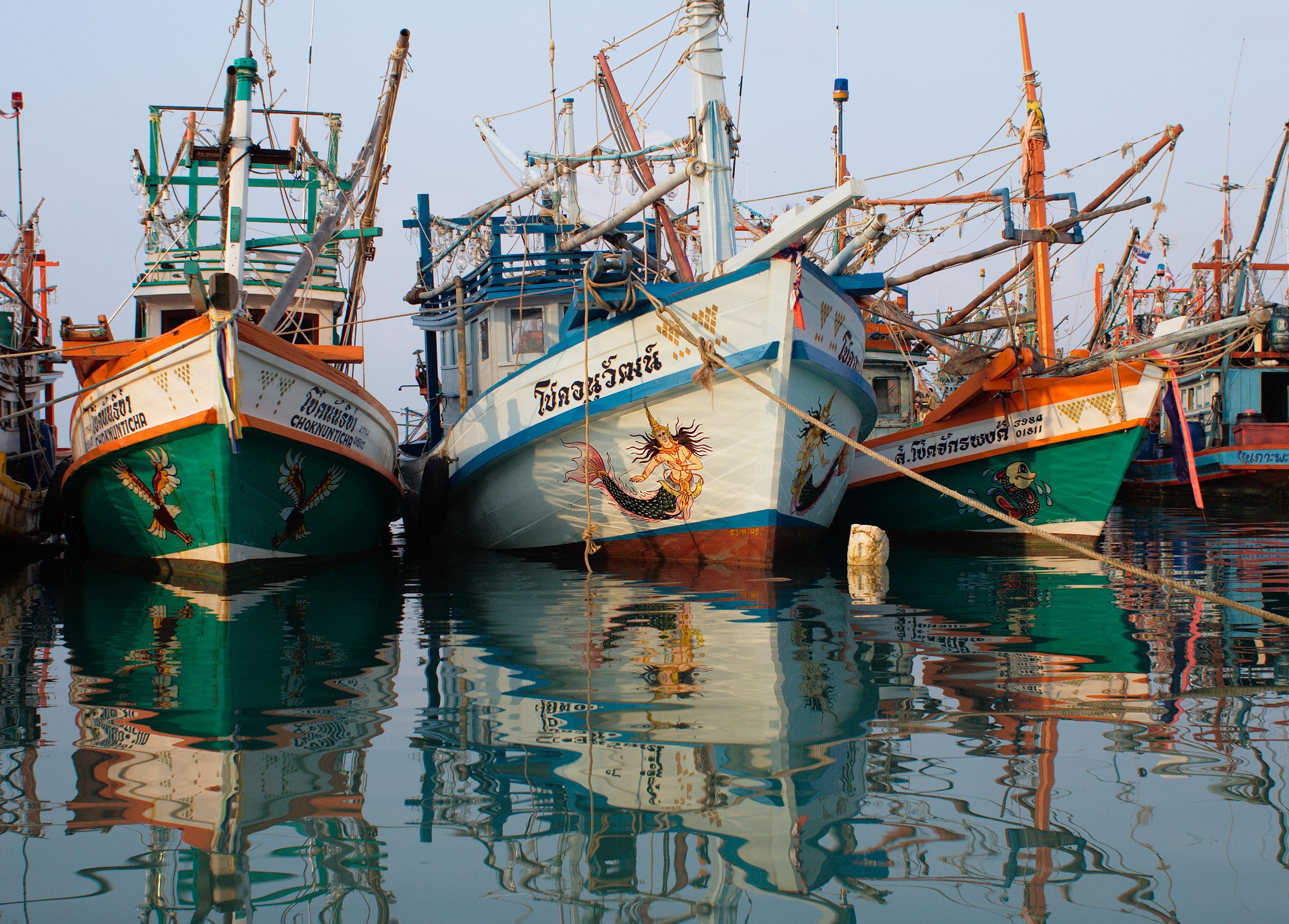 San Francisco 39 S Fisherman 39 S Wharf Boats 4272 2848
