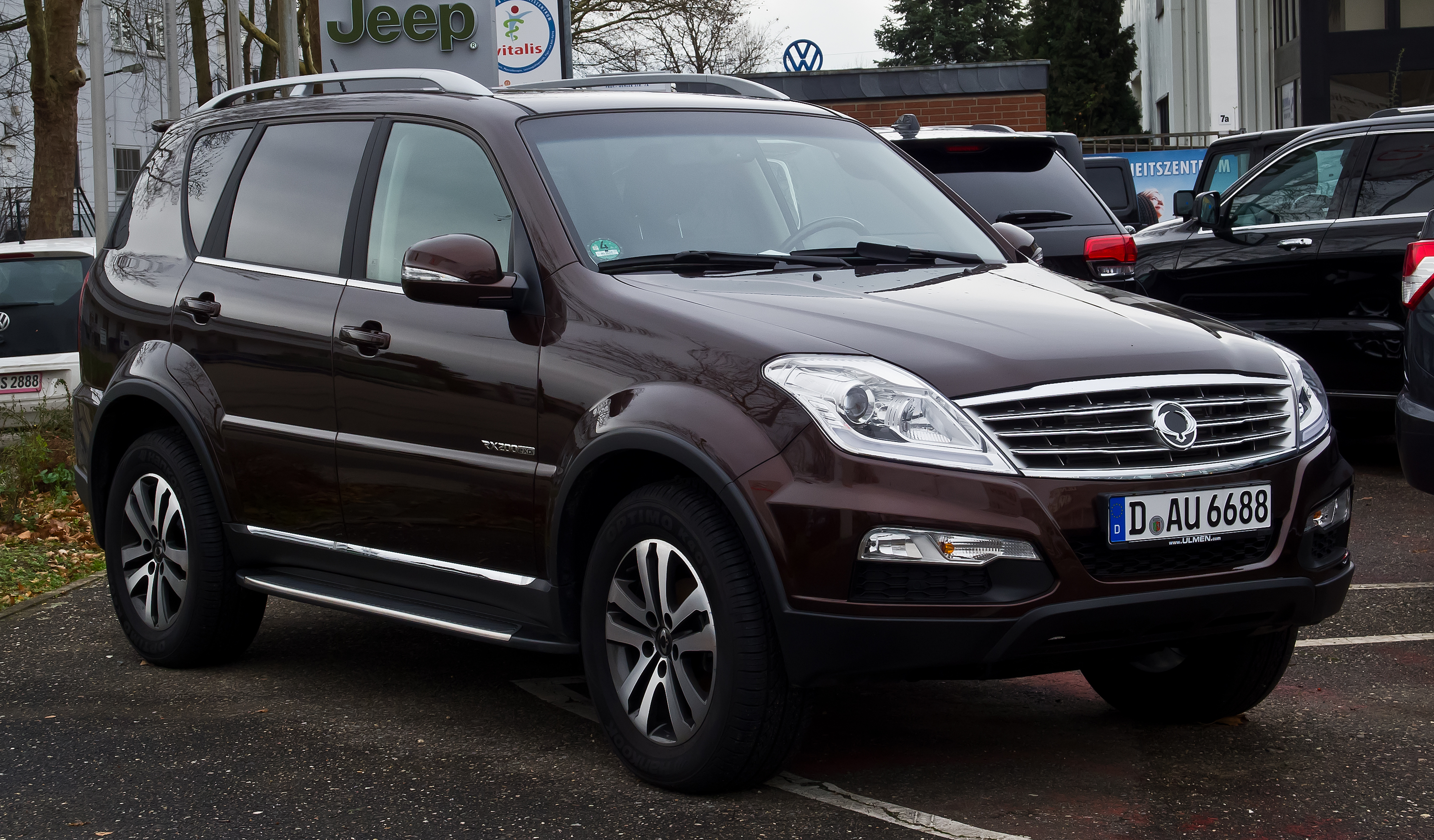 file ssangyong rexton w rx200e xdi sapphire 2 facelift frontansicht 1 4 januar 2014. Black Bedroom Furniture Sets. Home Design Ideas