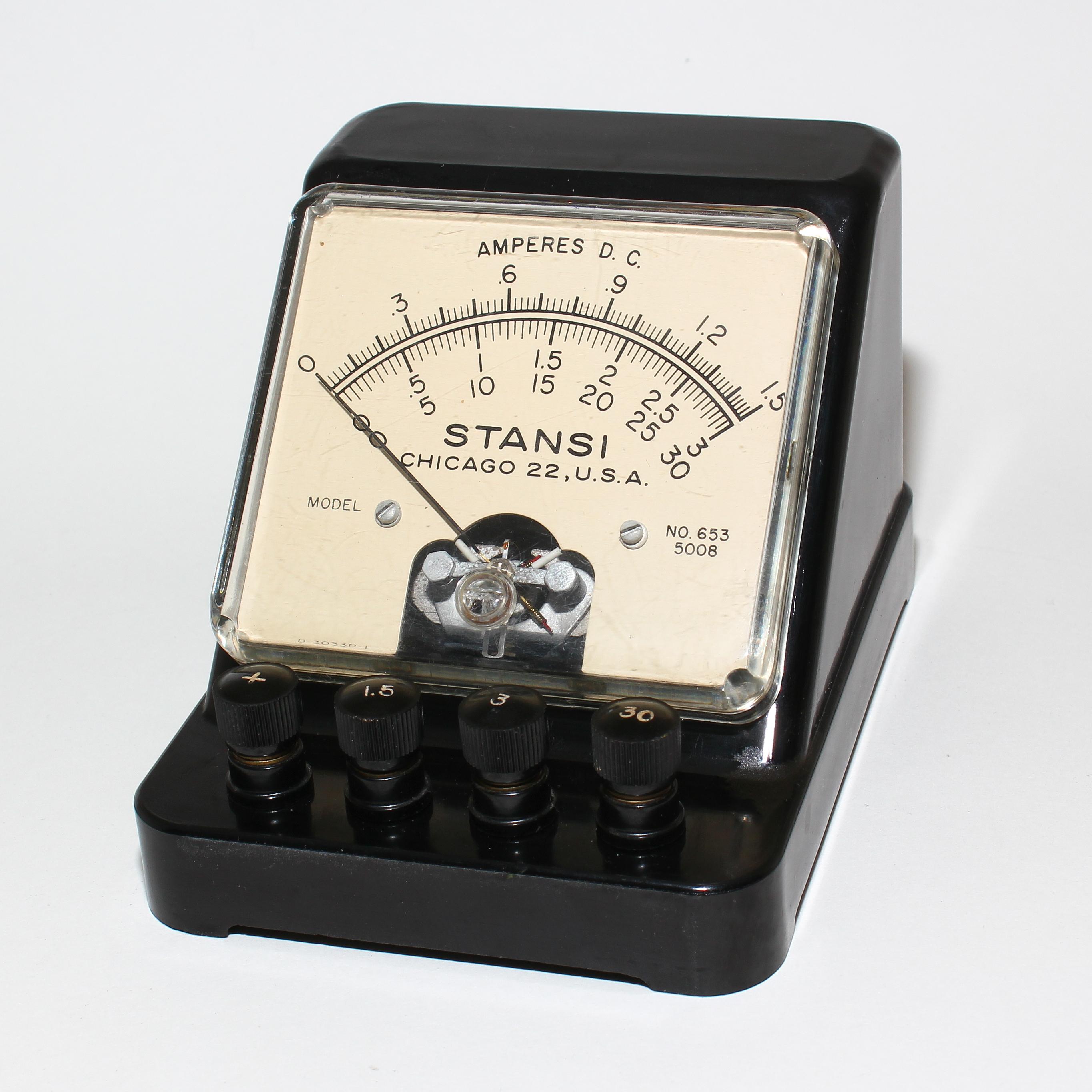 wiring adc ammeter distributor wiring