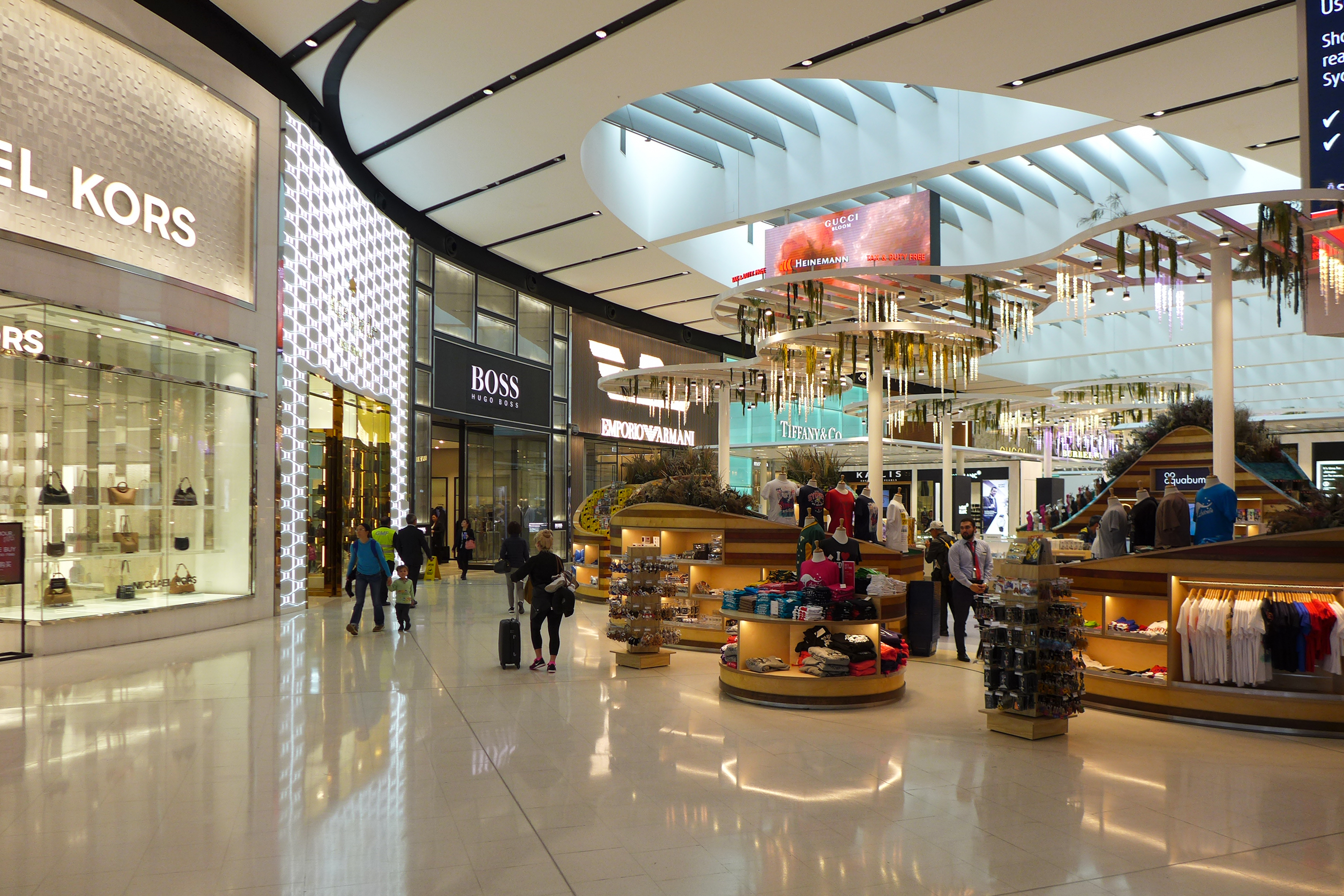 File Sydney Airport Terminal 1 Restrict Area Shops 2017