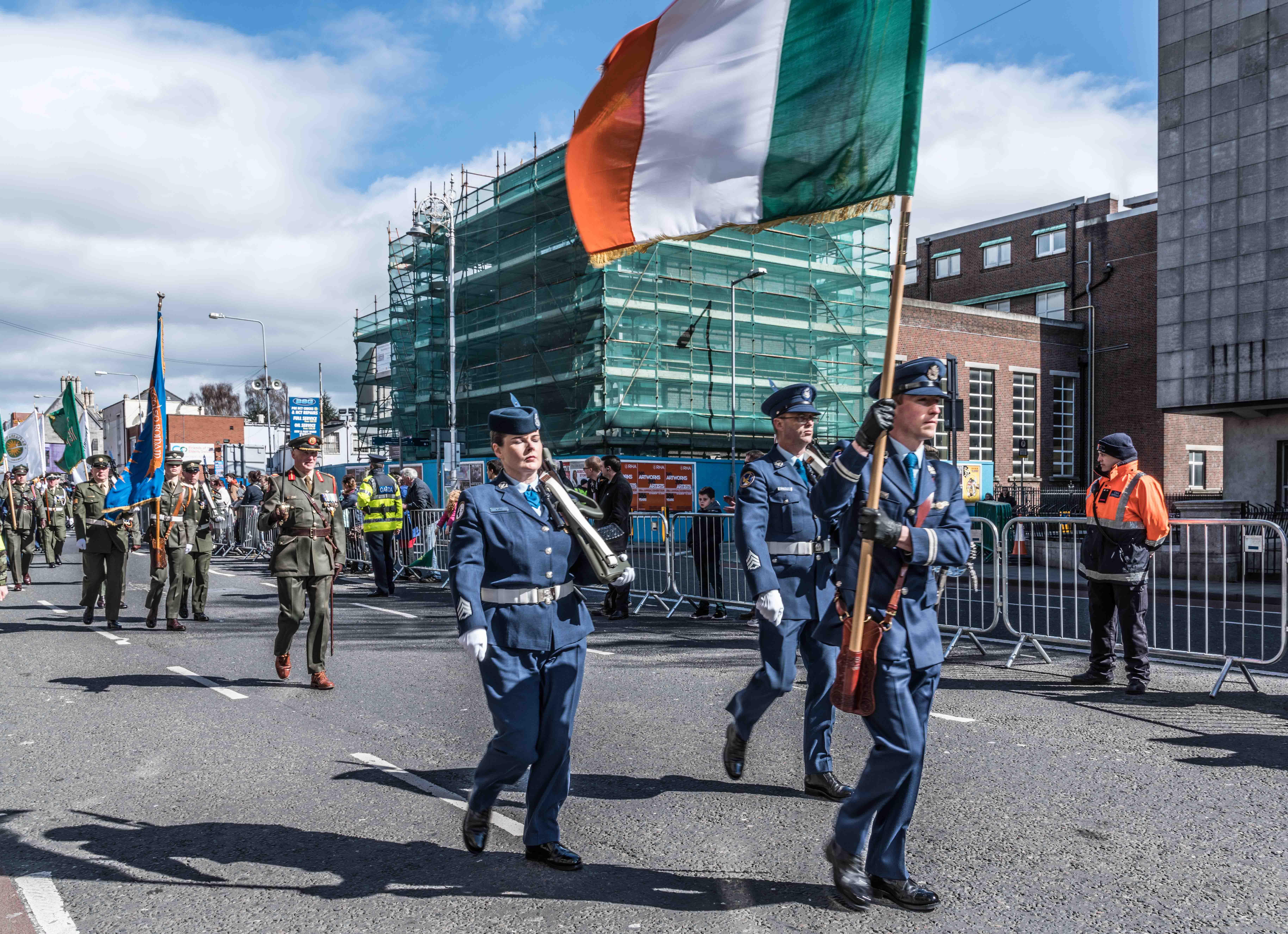 Célébration pour le centenaire de l'Insurrection de Pâques à Dublin en 2016